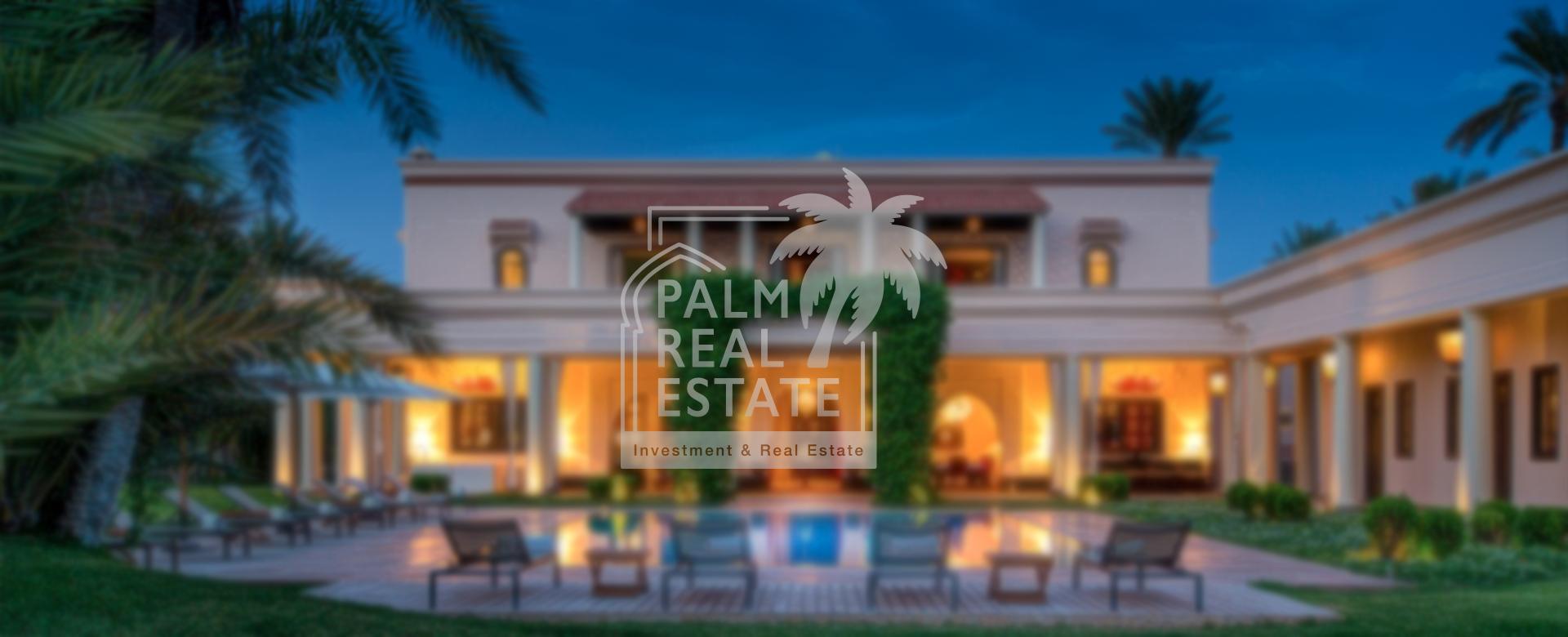 PALM REAL ESTATE votre partenaire sur le marché immobilier au Maroc