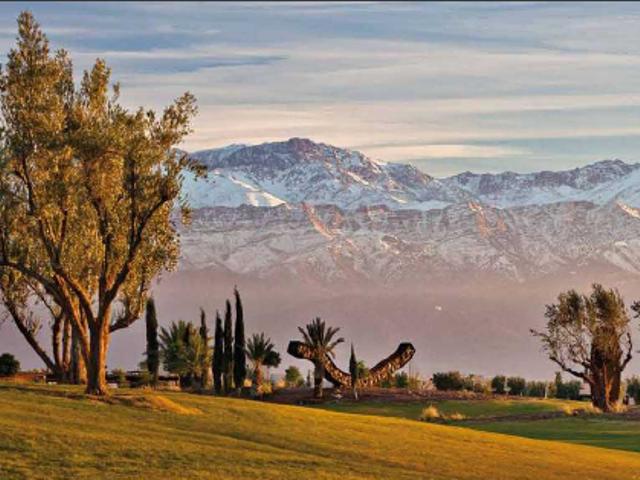 terrain sur golf
